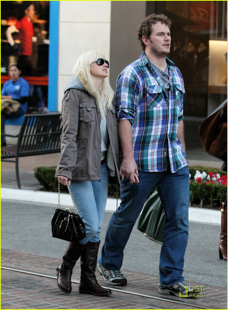 anna faris chris pratt couple 151687541