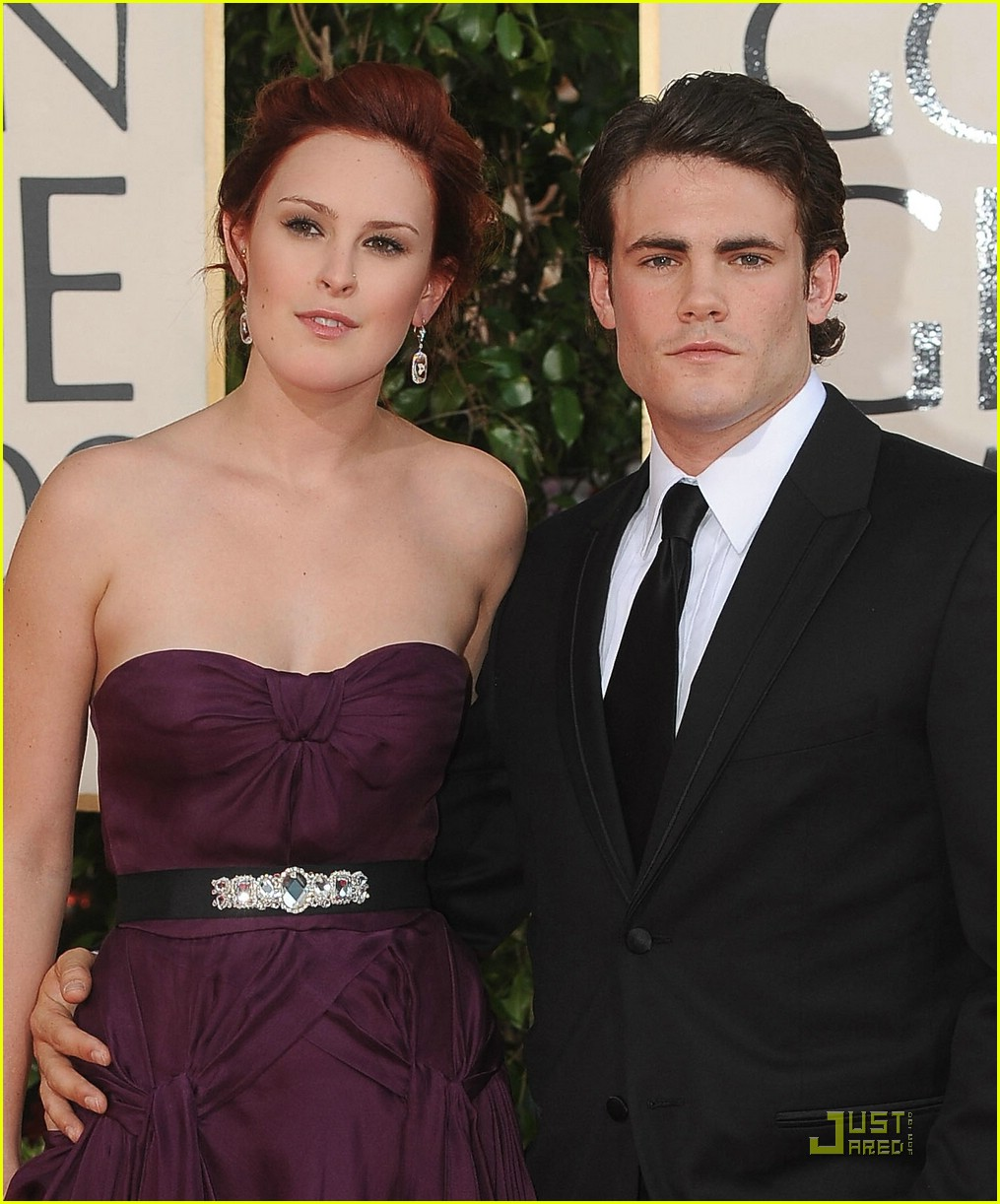 rumer willis golden globes 2009 02