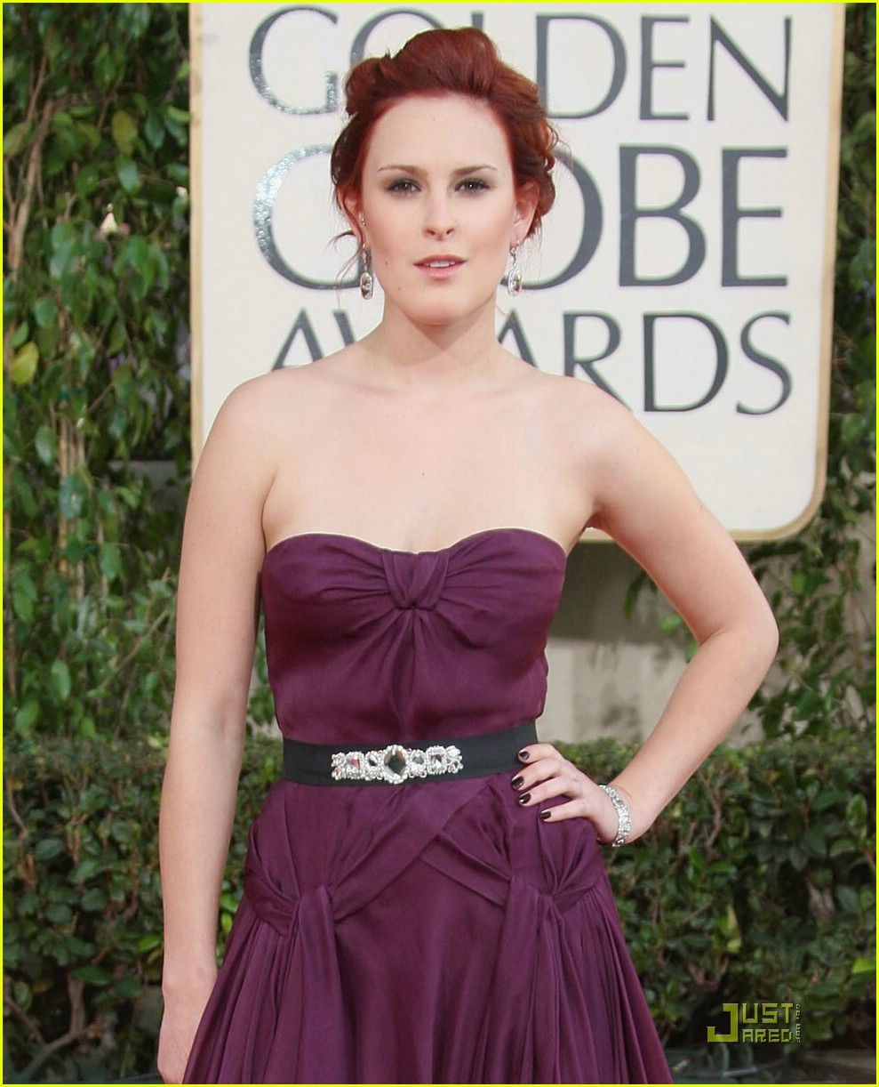 rumer willis golden globes 2009 08
