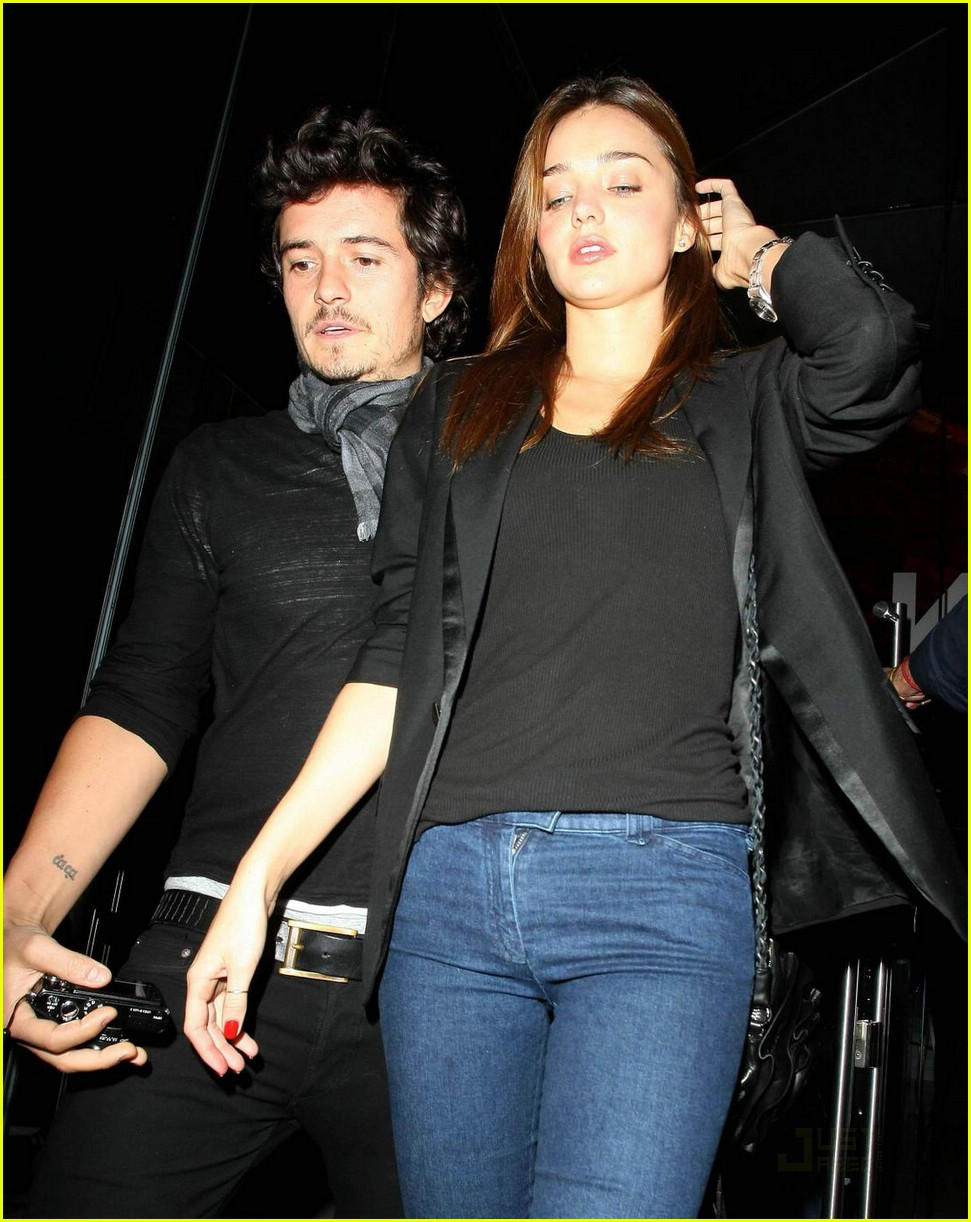 orlando bloom miranda kerr katsuya couple 05
