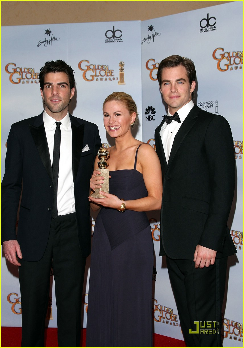 chris pine zachary quinto golden globes 2009 071648261