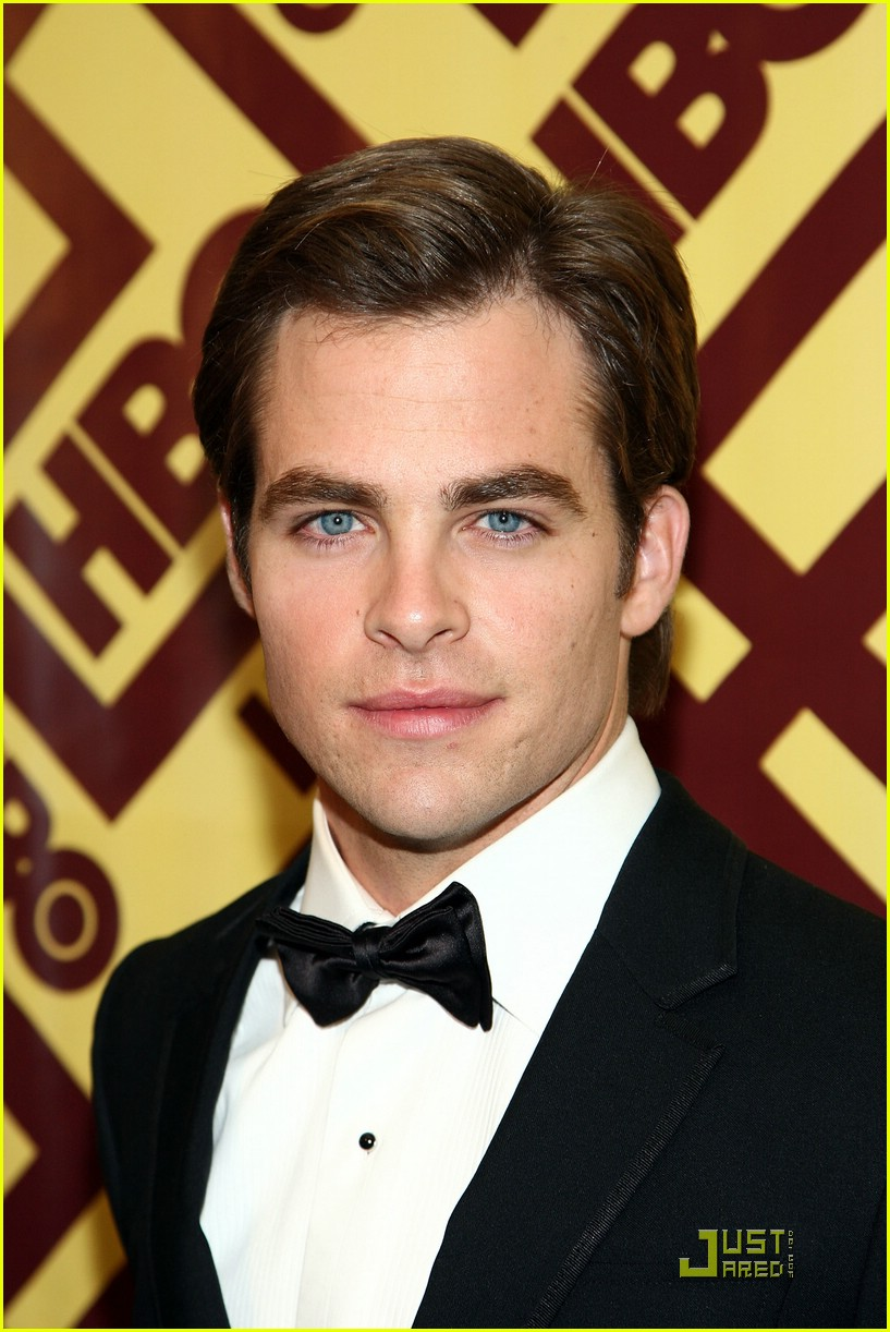 chris pine zachary quinto golden globes 2009 14