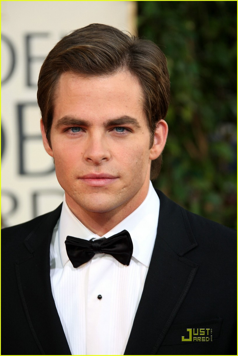 chris pine zachary quinto golden globes 2009 16