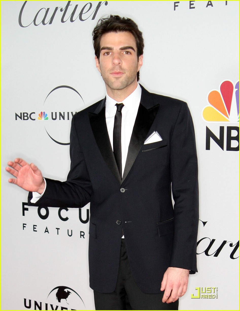 chris pine zachary quinto golden globes 2009 20