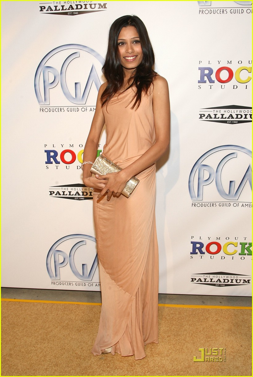 freida pinto producers guild awards 01
