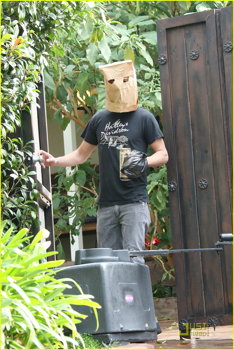 shia labeouf paper bag head 011671271