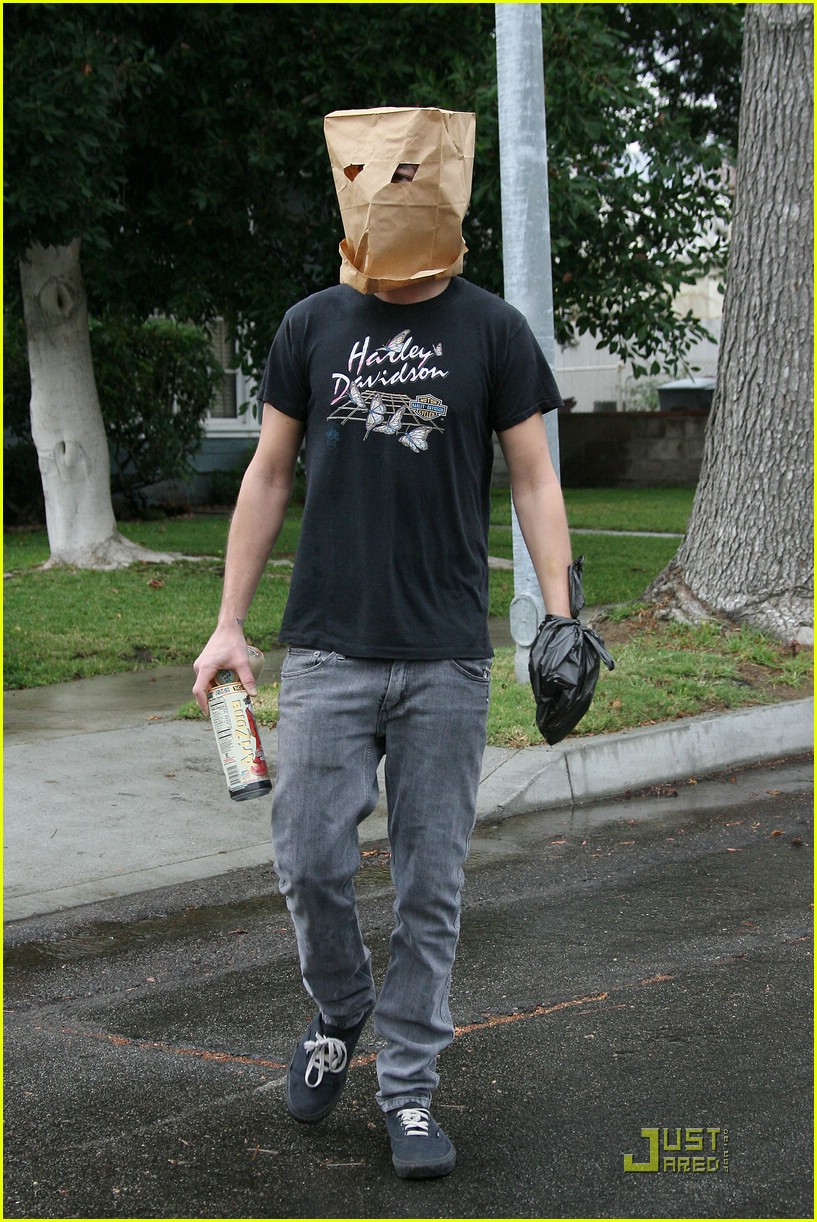 shia labeouf paper bag head 08