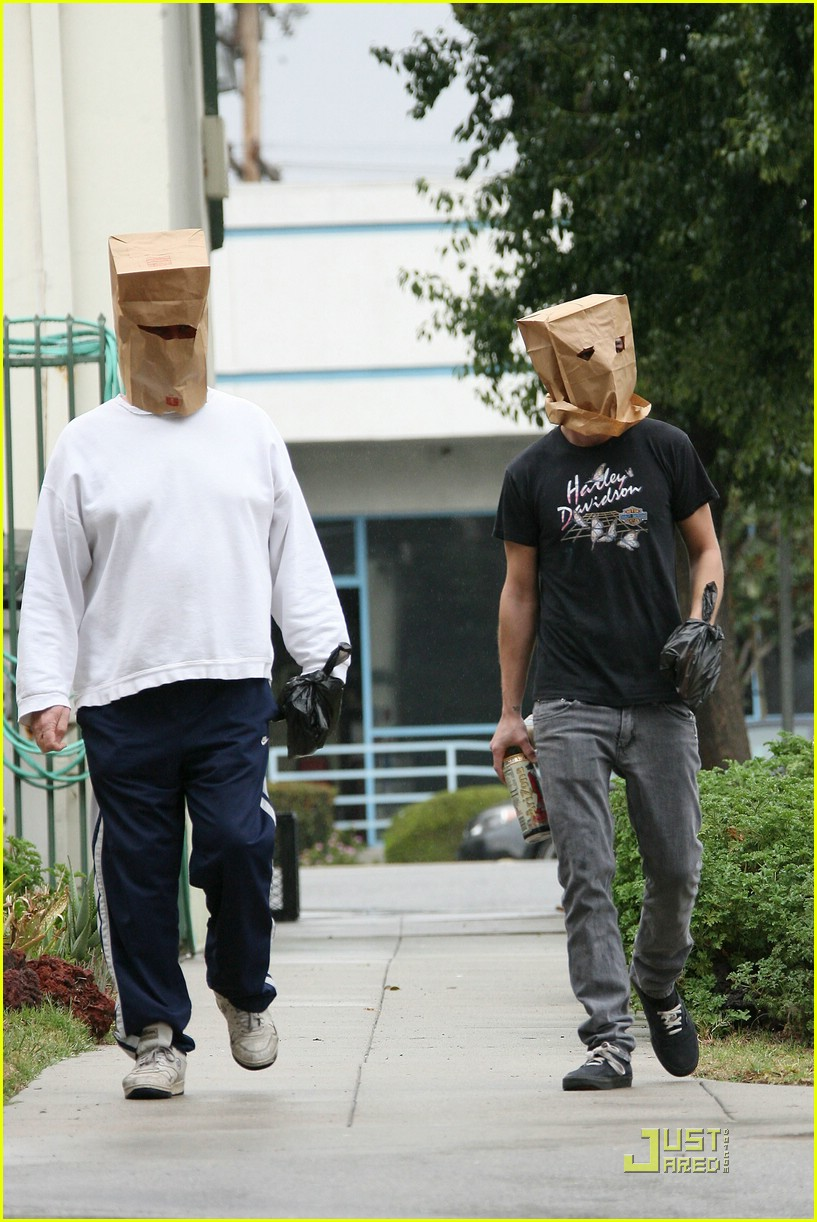 shia labeouf paper bag head 14