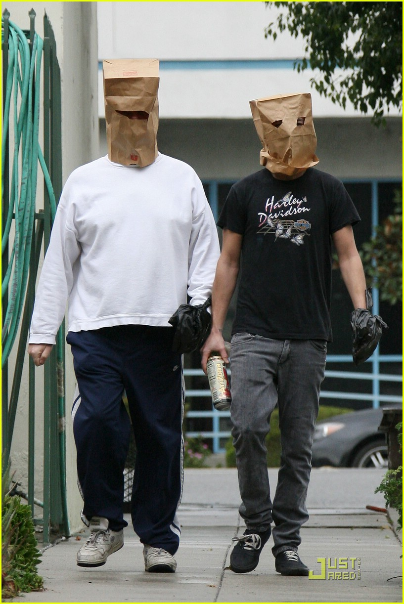 shia labeouf paper bag head 17