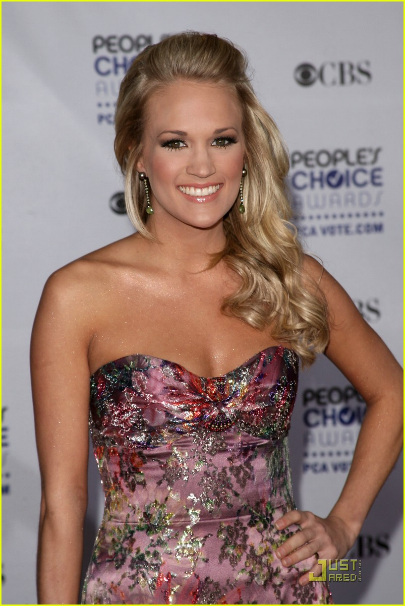 carrie underwood peoples choice awards 2009 03