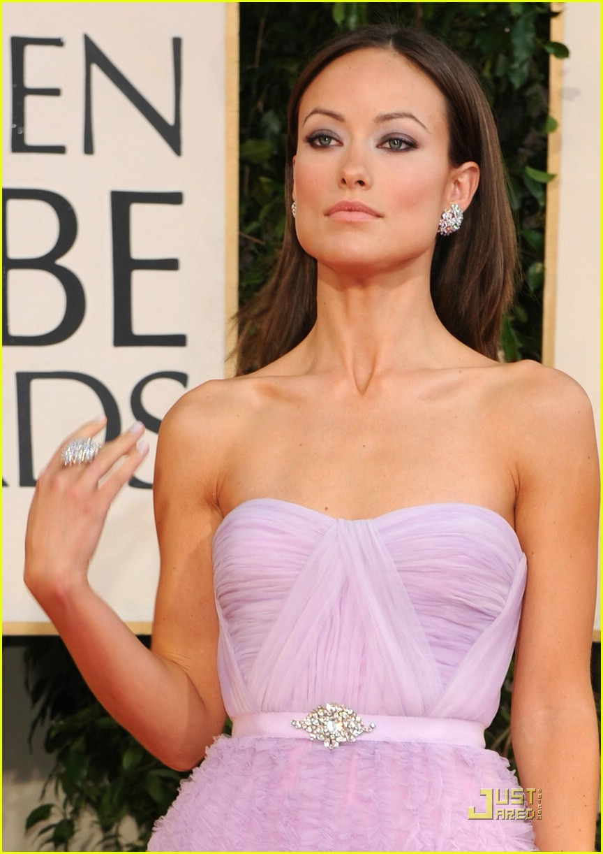 olivia wilde golden globes 2009 04