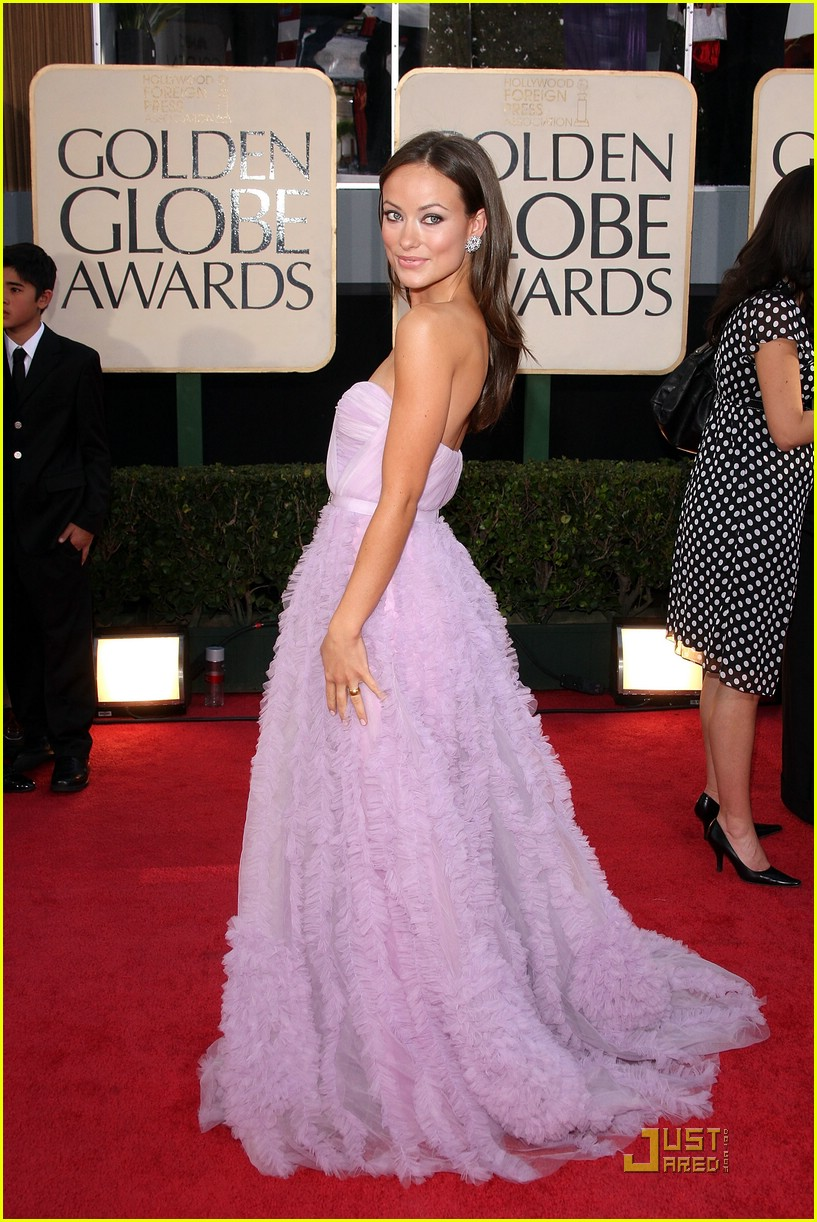 olivia wilde golden globes 2009 05