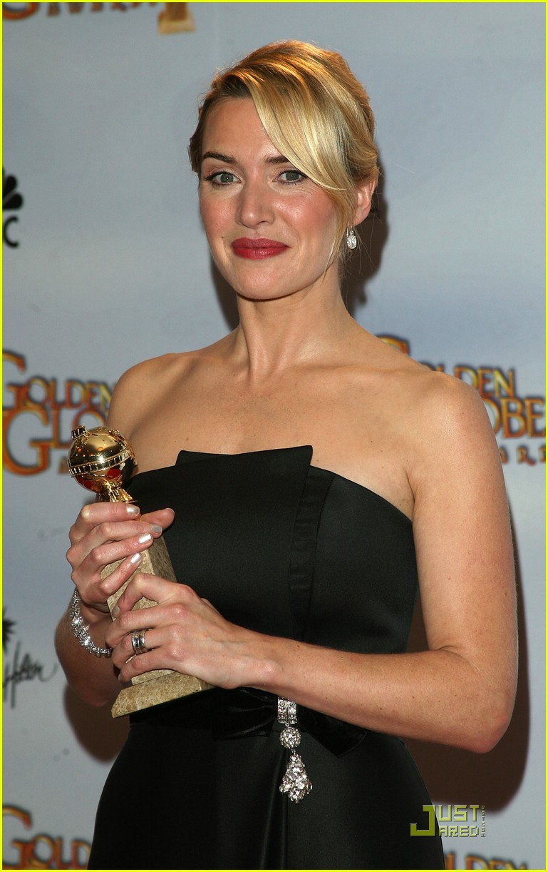 kate winslet golden globes 2009 best actress 321646021