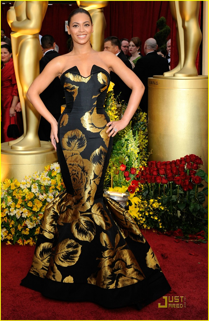 beyonce knowles 2009 oscars 01