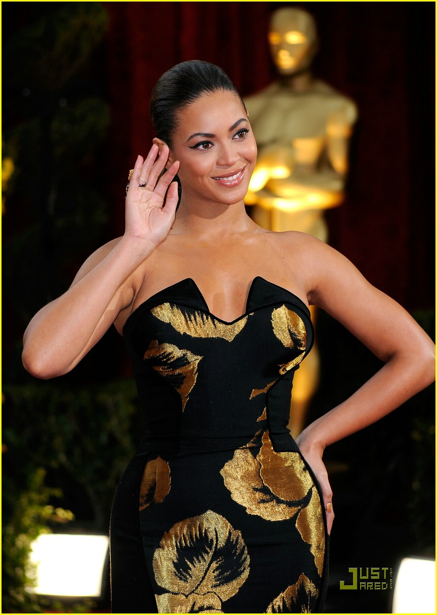 beyonce knowles 2009 oscars 05