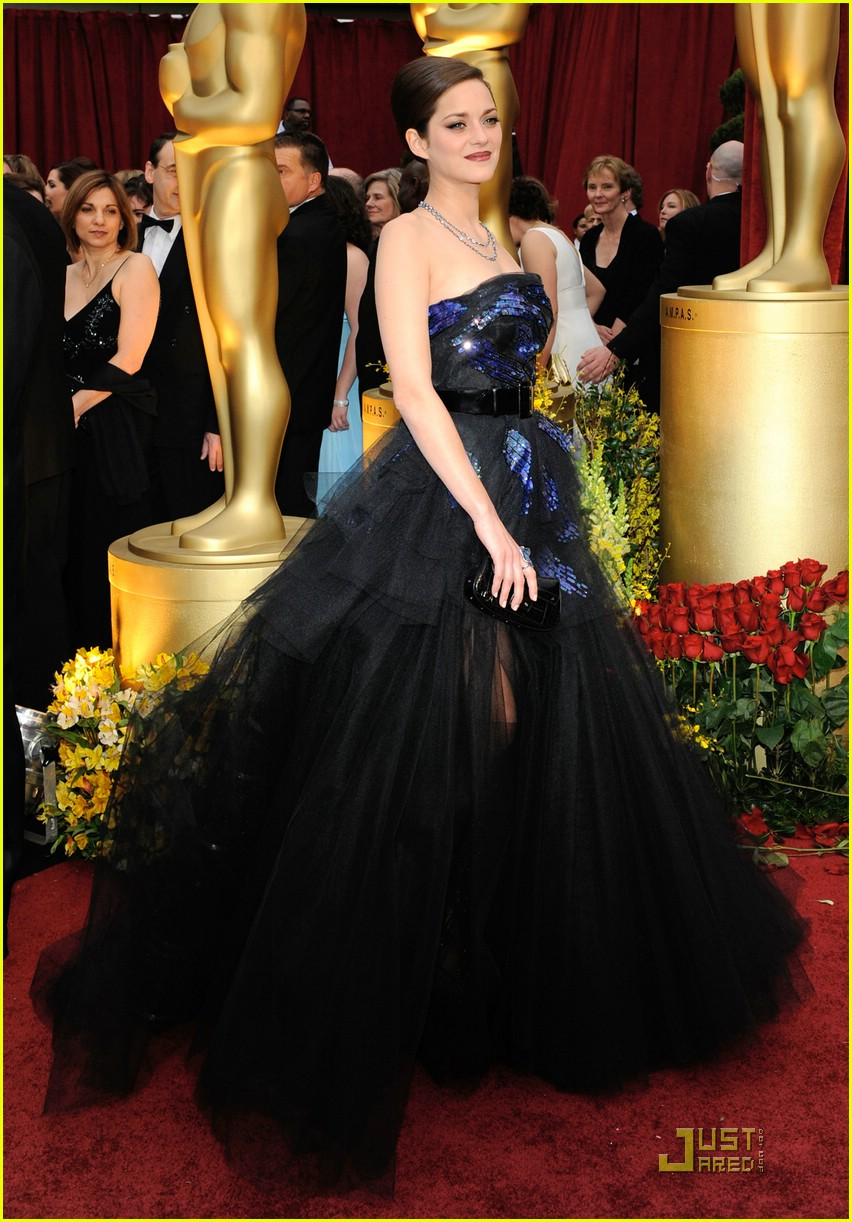 marion cotillard brad pitt 2009 oscars 1