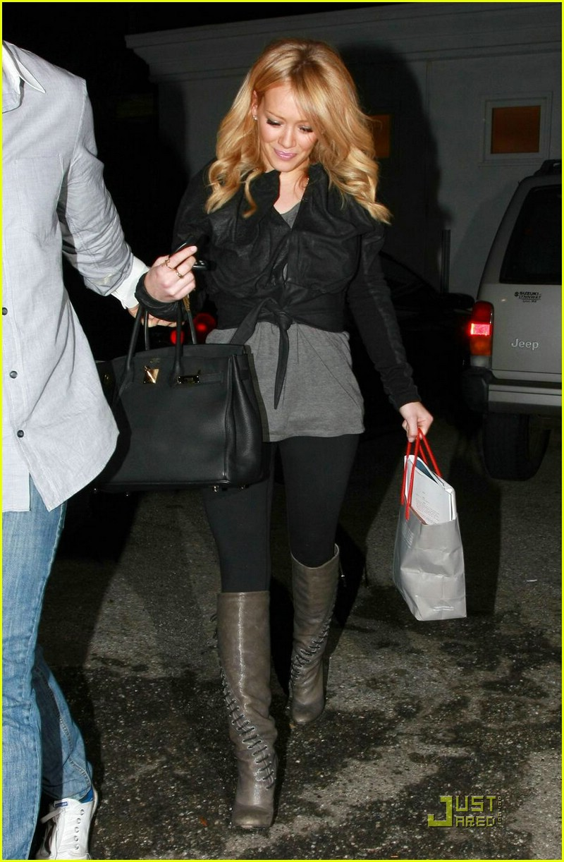 hilary duff byron and tracey salon 08