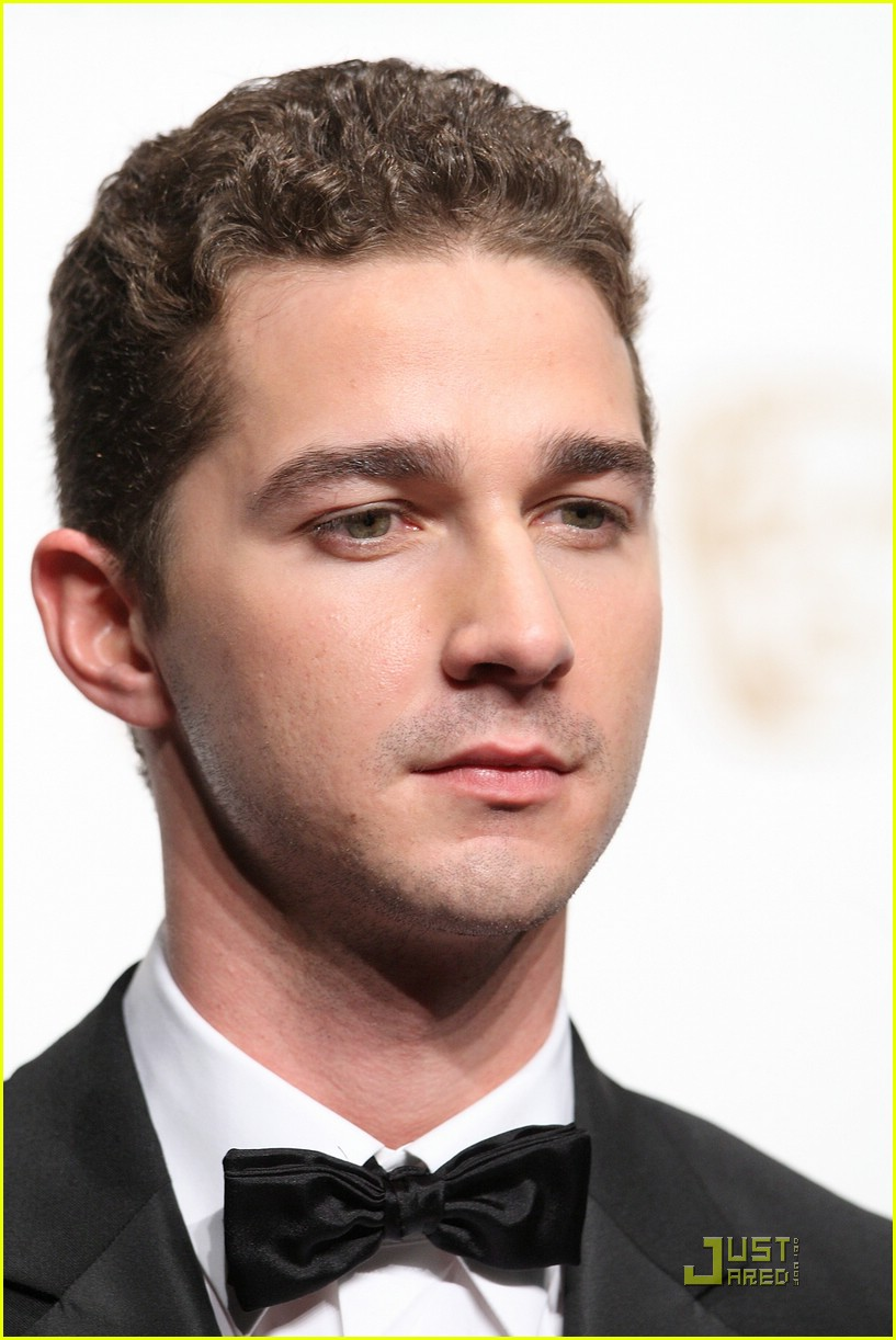 shia labeouf bafta awards 08