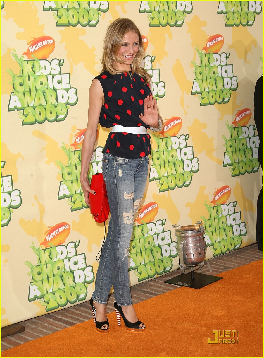 cameron diaz 2009 kids choice awards 12