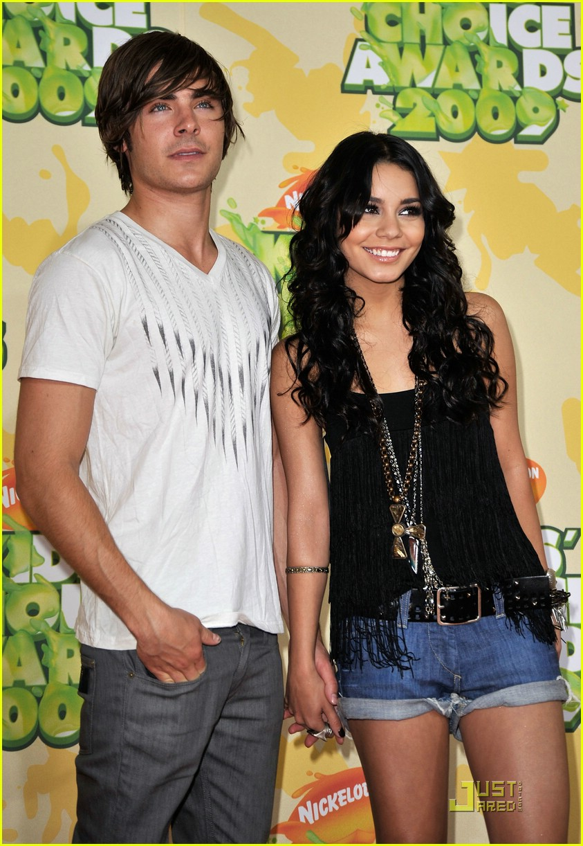 zac efron vanessa hudgens 2009 kids choice awards 03