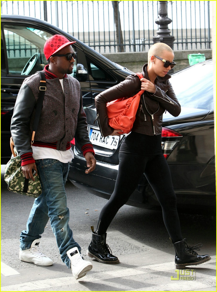 Kanye West   Amber Ros...