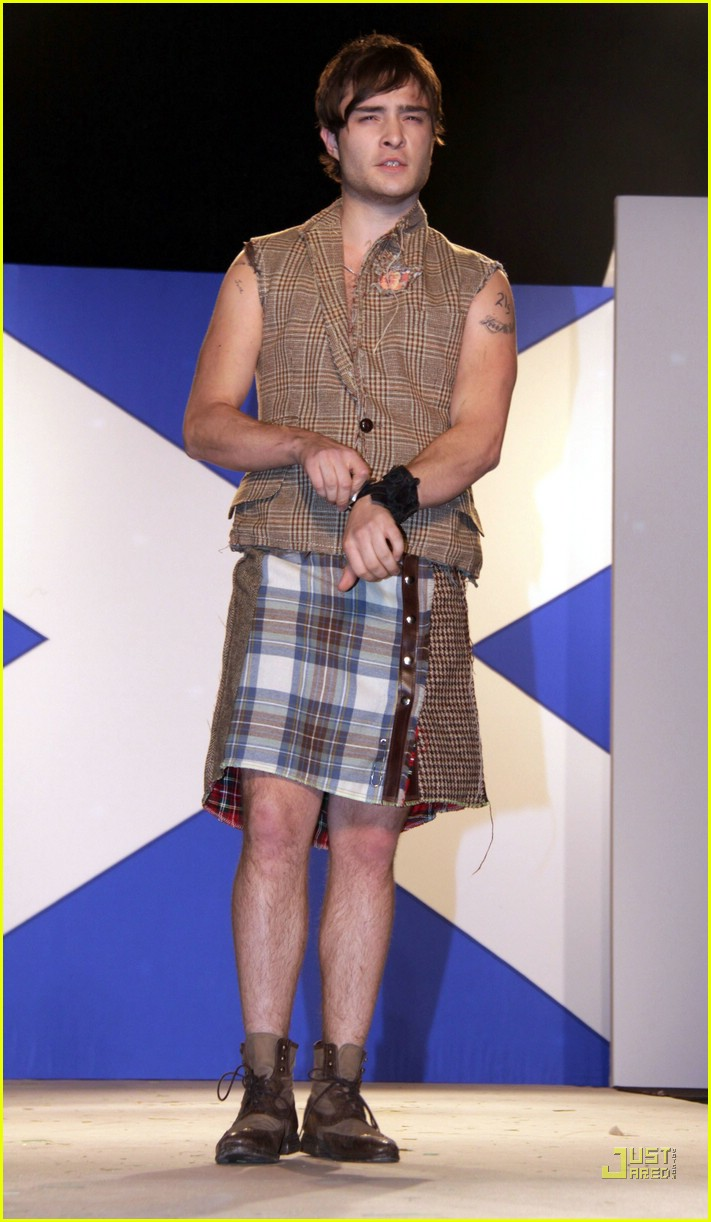 ed westwick dressed to kilt 01