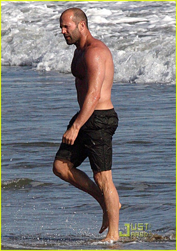 Jason Statham Cools It...