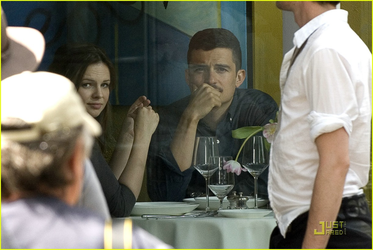 orlando bloom amber tamblyn dinner date 021866651