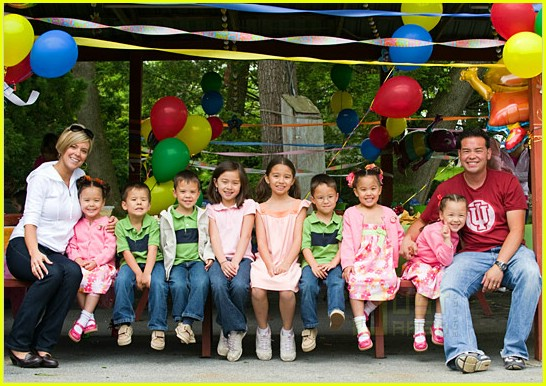 jon kate plus 8 sextuplets birthday celebration 041933801