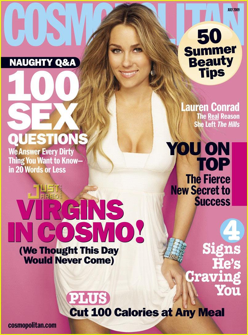 lauren conrad cosmopolitan july 2009 01