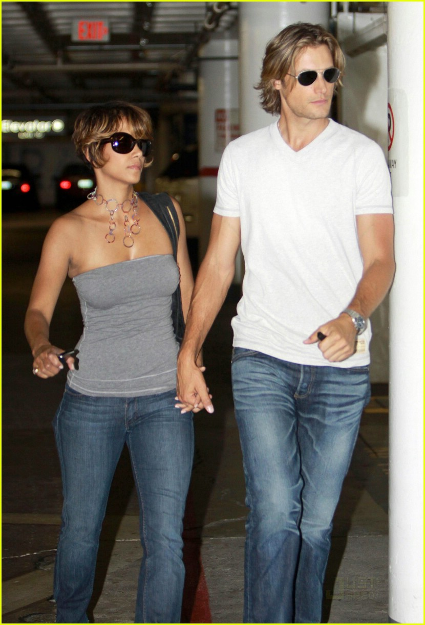 Full Sized Photo of halle berry hollister gabriel aubry 09 ... Halle Berry