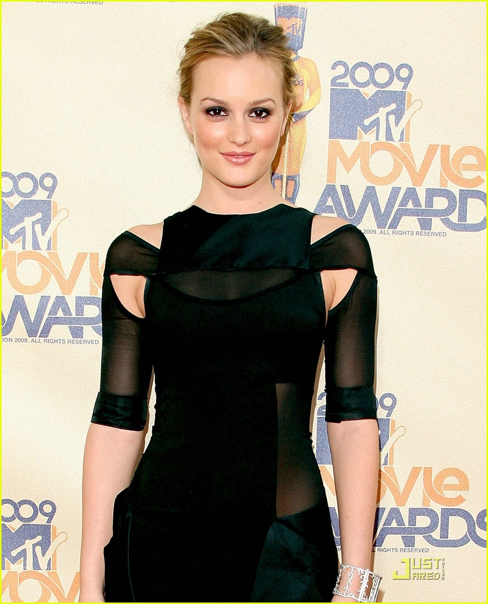 leighton meester mtv movie awards 2009 06