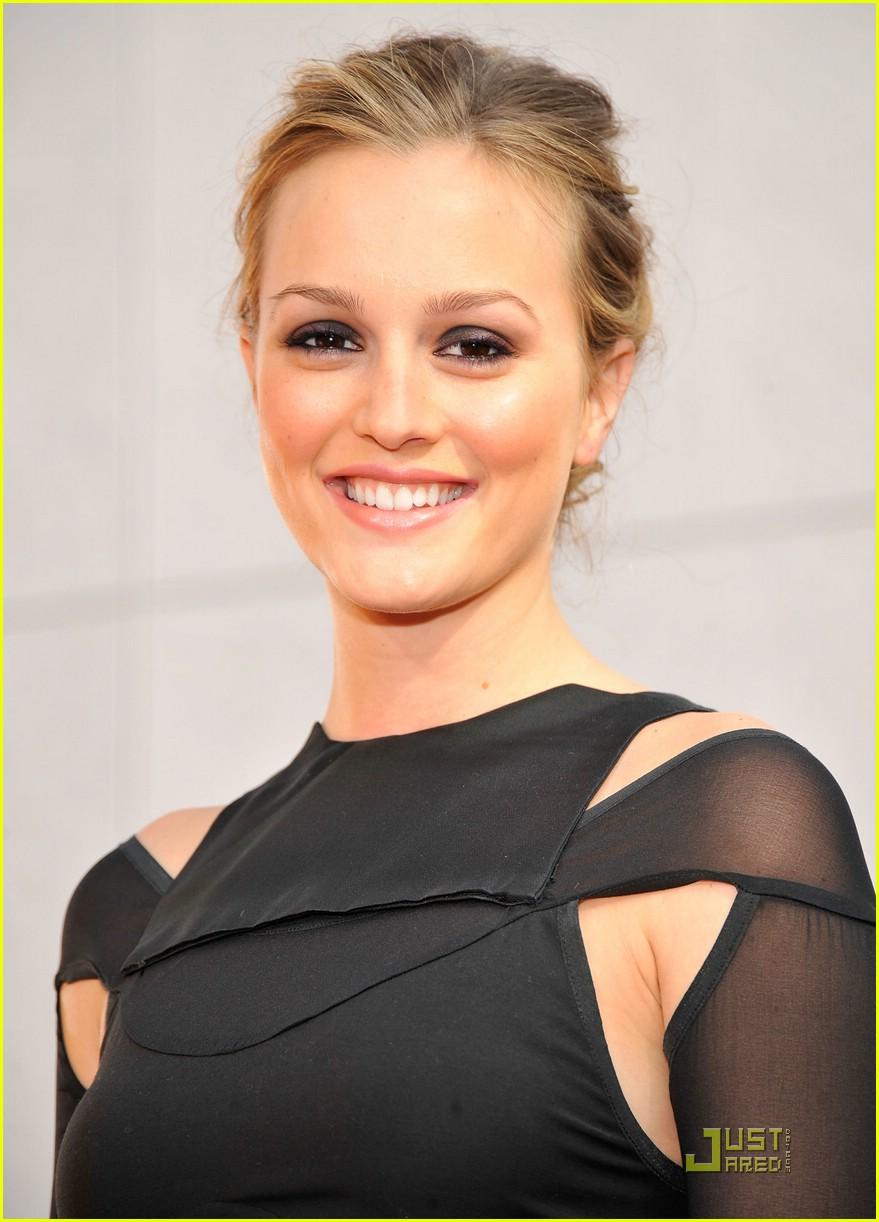 leighton meester mtv movie awards 2009 08