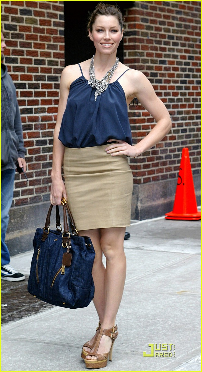 jessica biel loves letterman 061966391