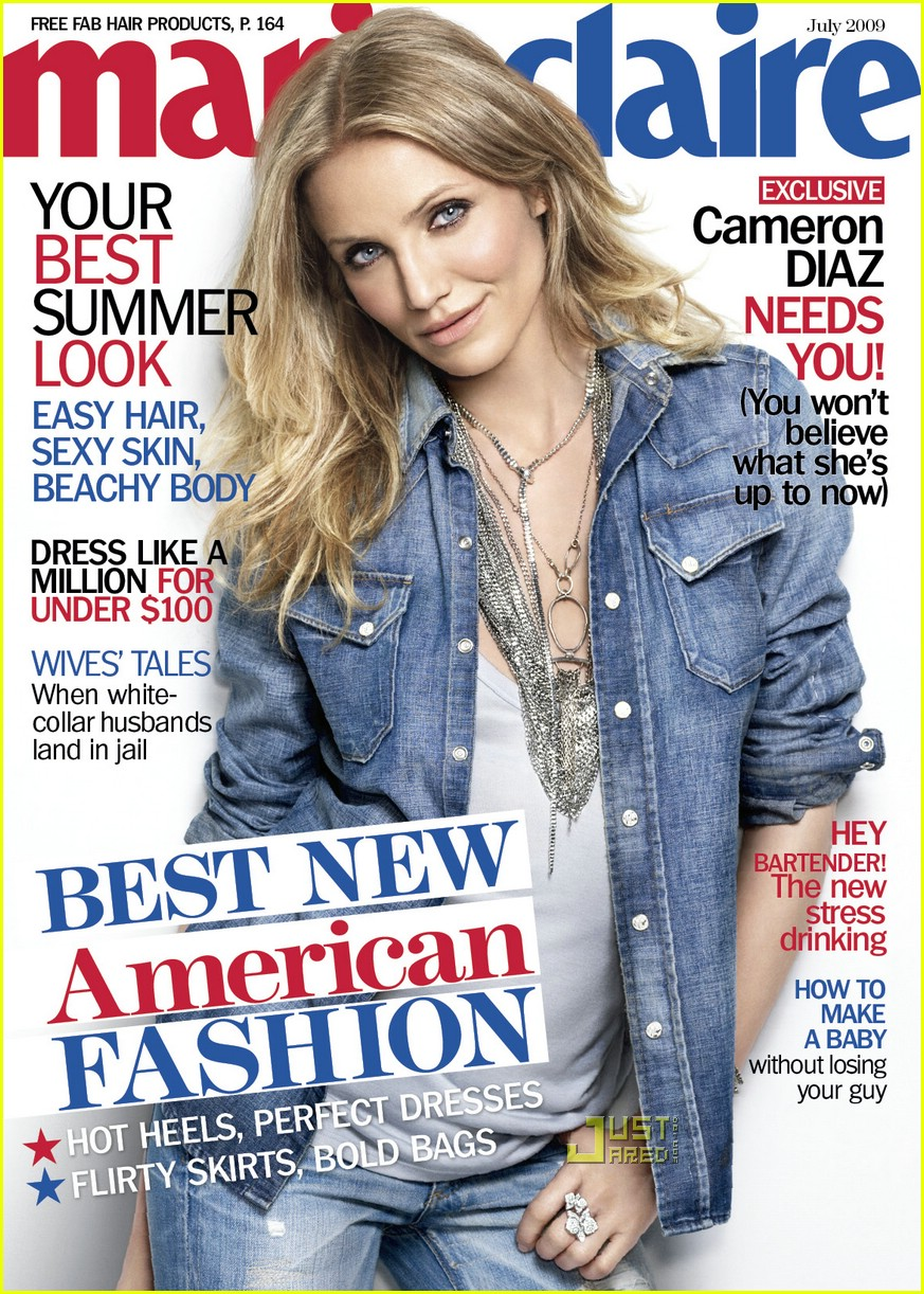 Full Sized Photo of cameron diaz marie claire july 2009 02 ... Cameron Diaz 2017