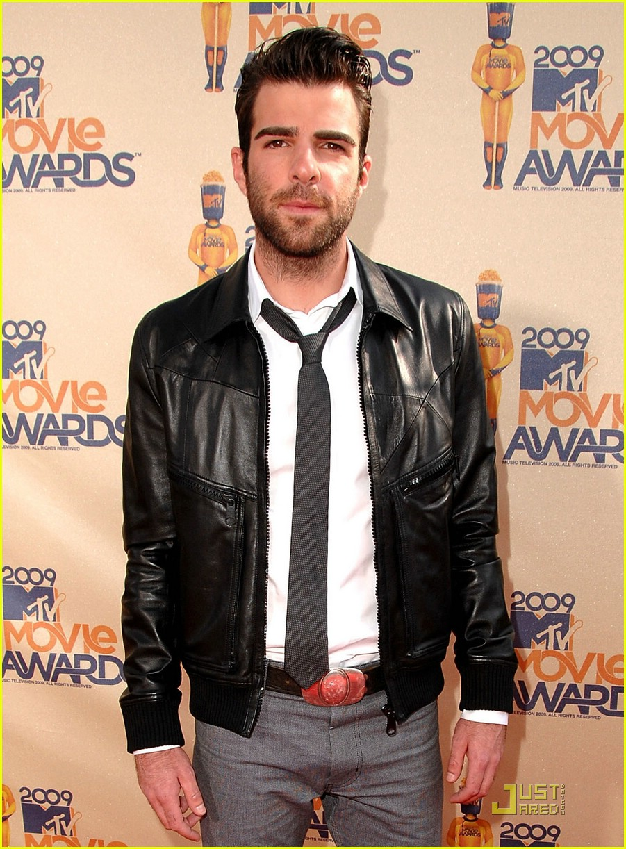 zachary quinto mtv movie awards 2009 05