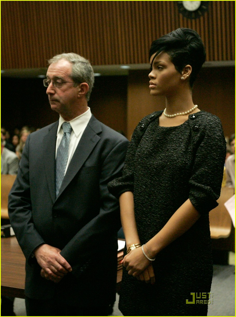 rihanna chris brown court 09