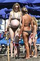laetitia casta bikini baby bump 10
