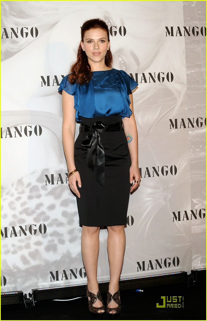 scarlett johansson new face of mango 23