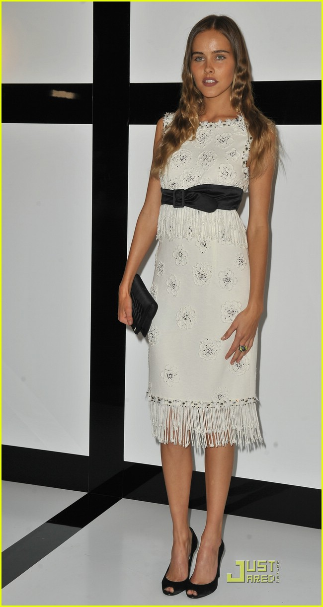 The dress is chanel - Isabel Lucas Is Chanel Chic