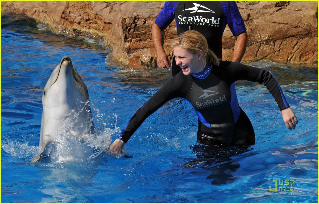 anna paquin stephen moyer seaworld 142081432