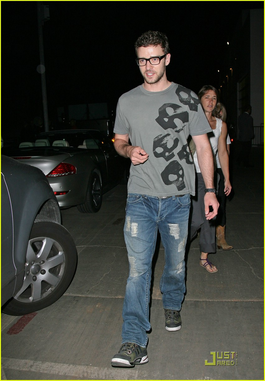 justin timberlake jessica biel hollywood bowl 102049421
