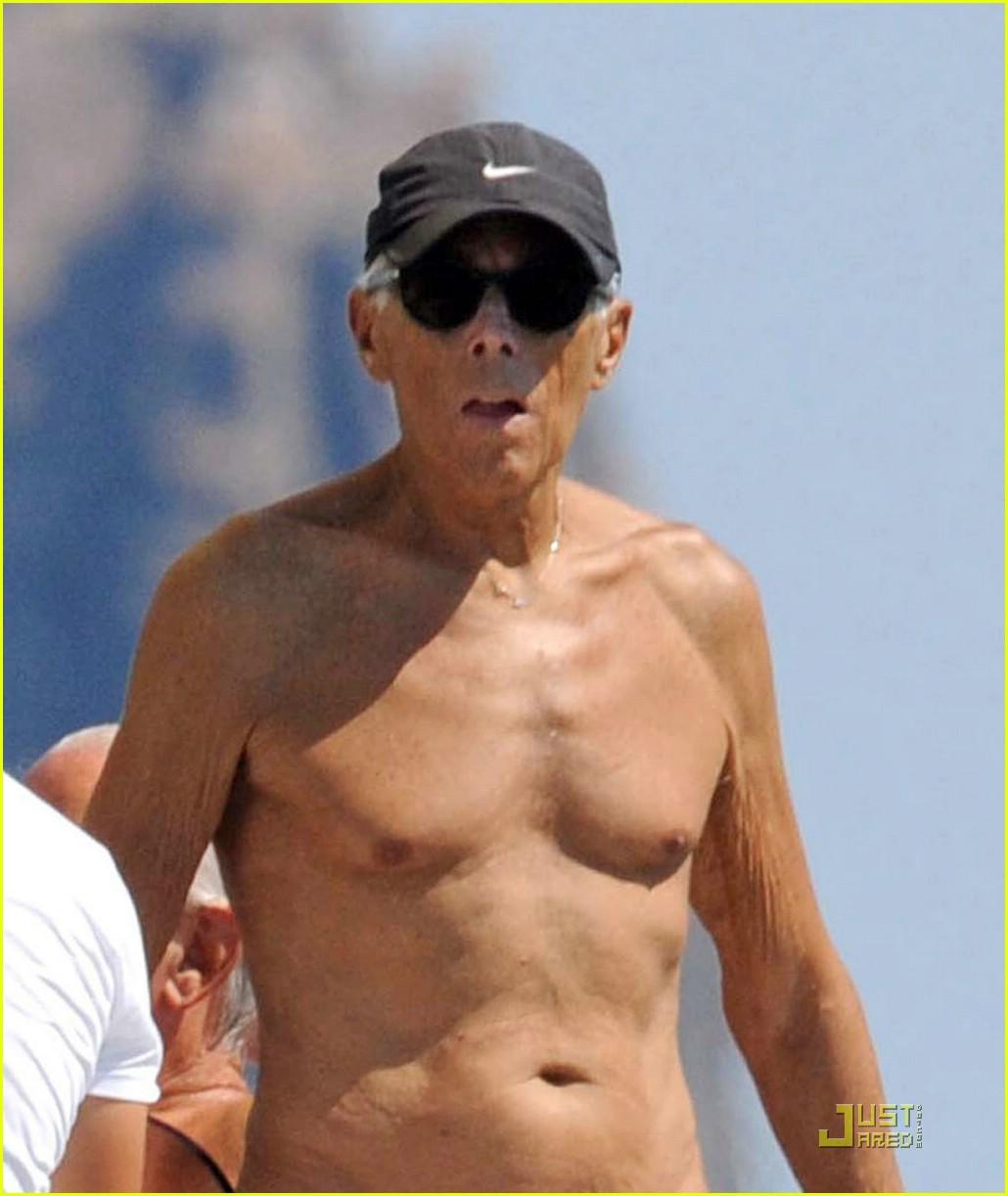 Giorgio Armani Gets Shirtless in a Speedo : Photo 2093812 | Giorgio ... Giorgio Armani