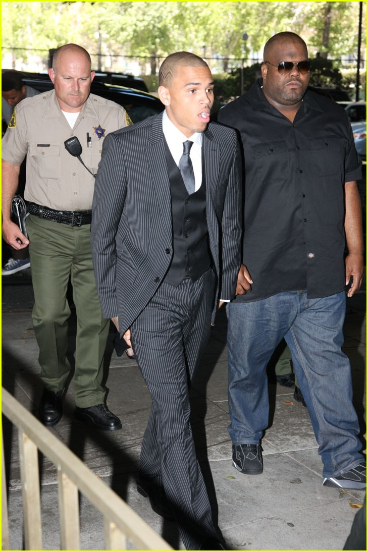 chris brown sentence 03