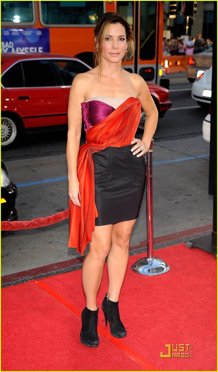 Full Sized Photo of bradley cooper sandra bullock premiere ... Sandra Bullock