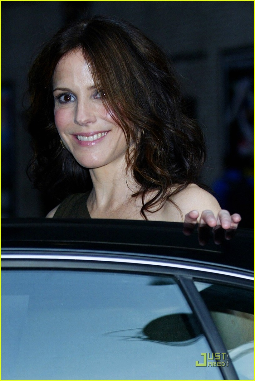 mary louise parker david letterman 07