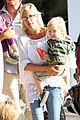 tori spelling kids play at the park 06