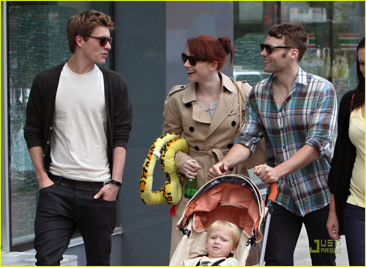 bryce dallas howard seth gabel son theodore 22