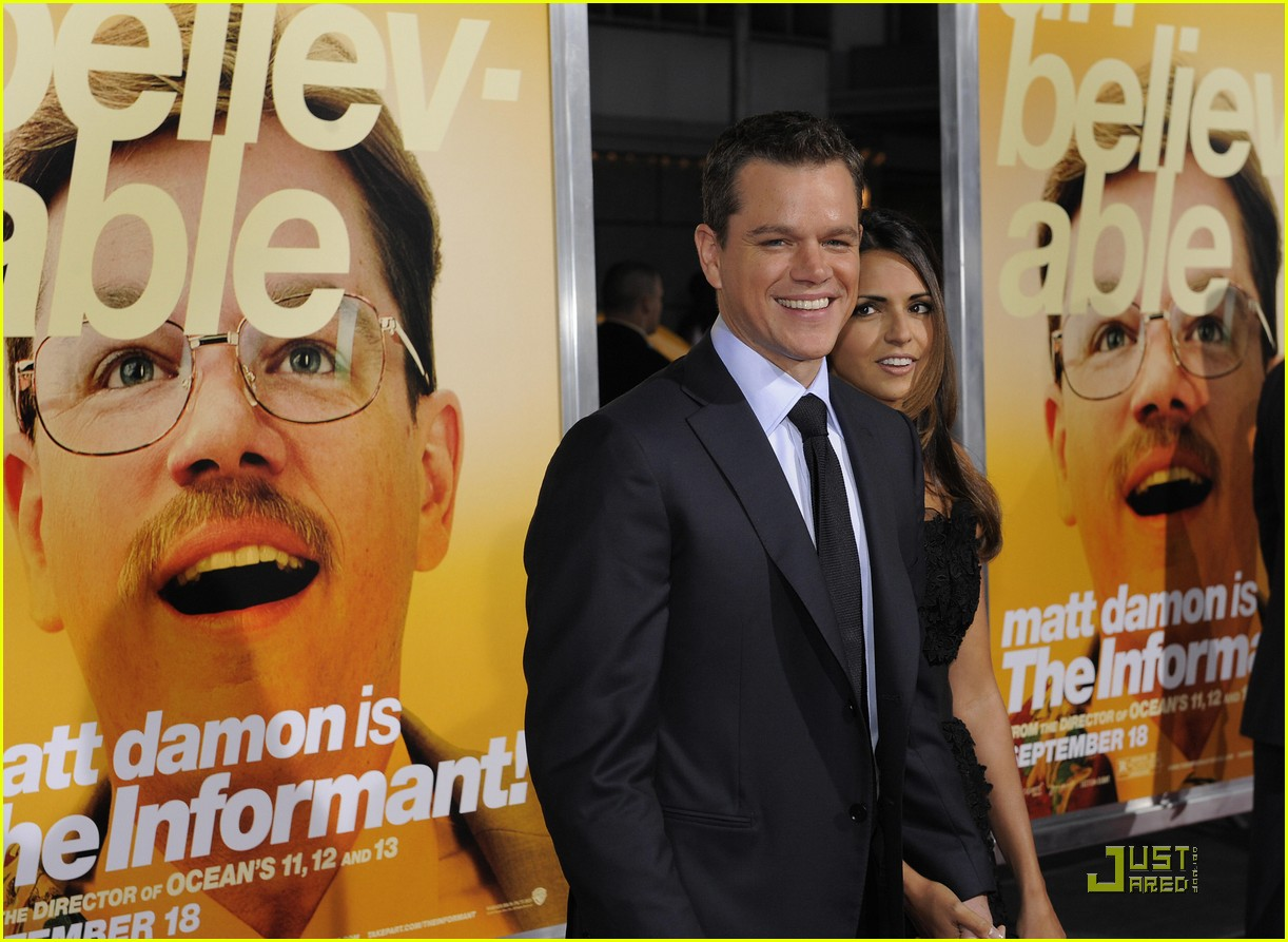 matt damon the informant 062219062