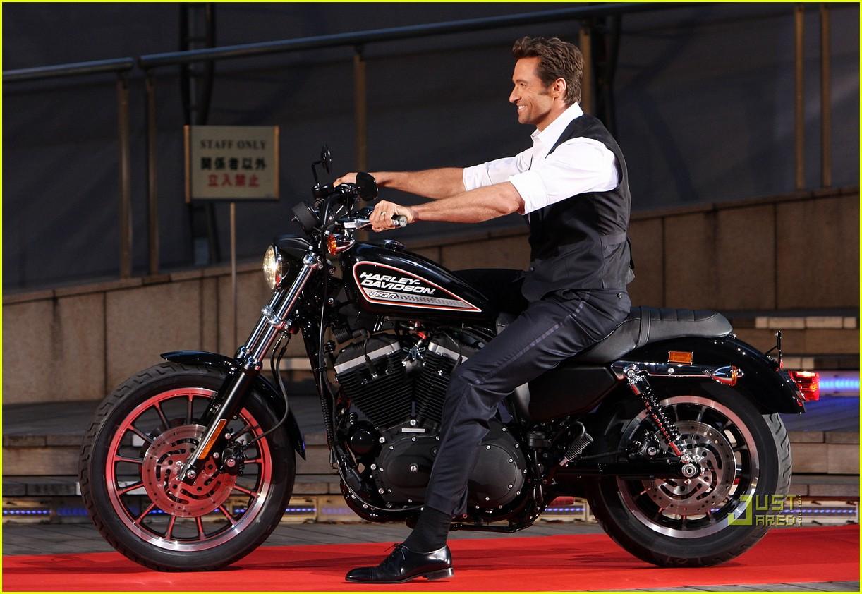 Hugh Jackman: Motorcycle Man: Photo 2182752   Hugh Jackman ...